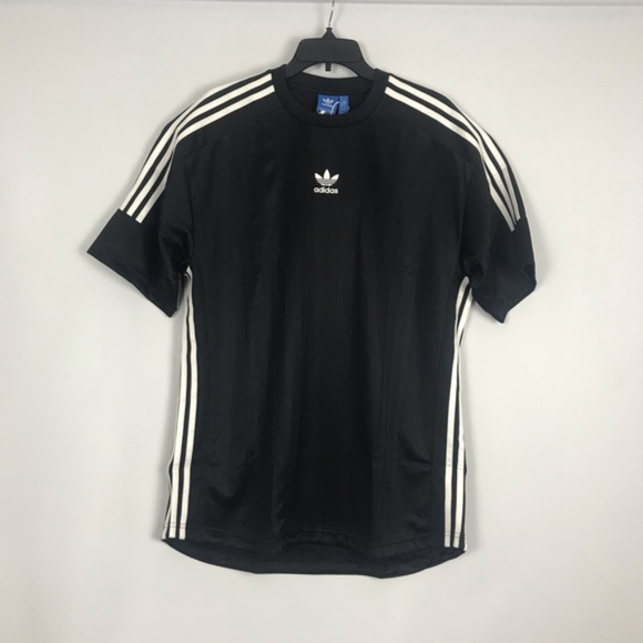 adidas Originals 3 Stripe Jacquard Jersey (Black) NWT
